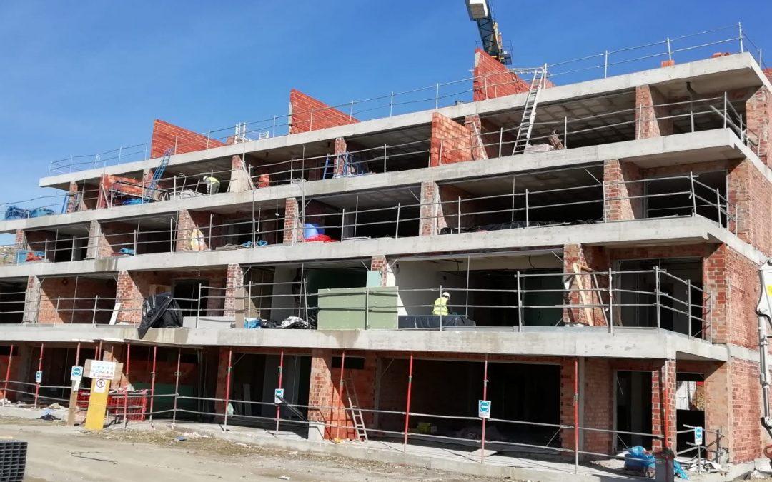 Proyecto en ejecución de 127 viviendas