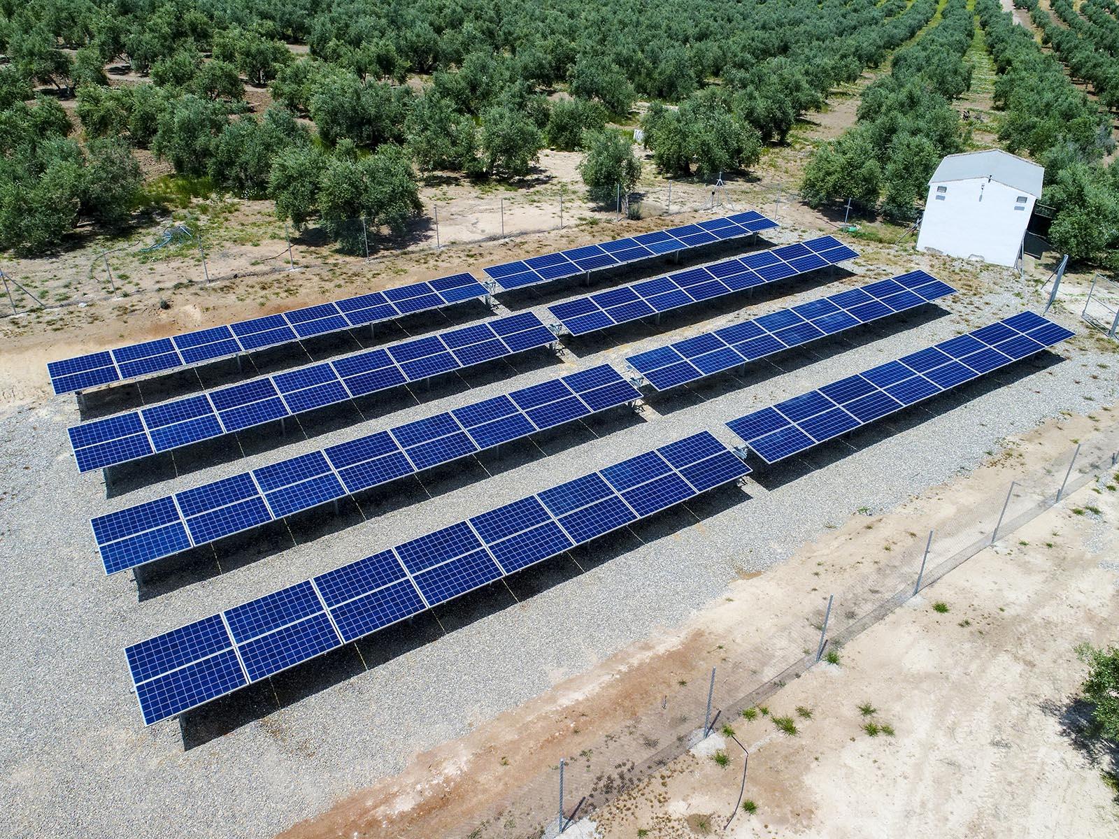 Solar Jiennense - Bombeo - seguimiento en Jabalquinto